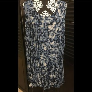 Tops - Blue Leopard Tunic